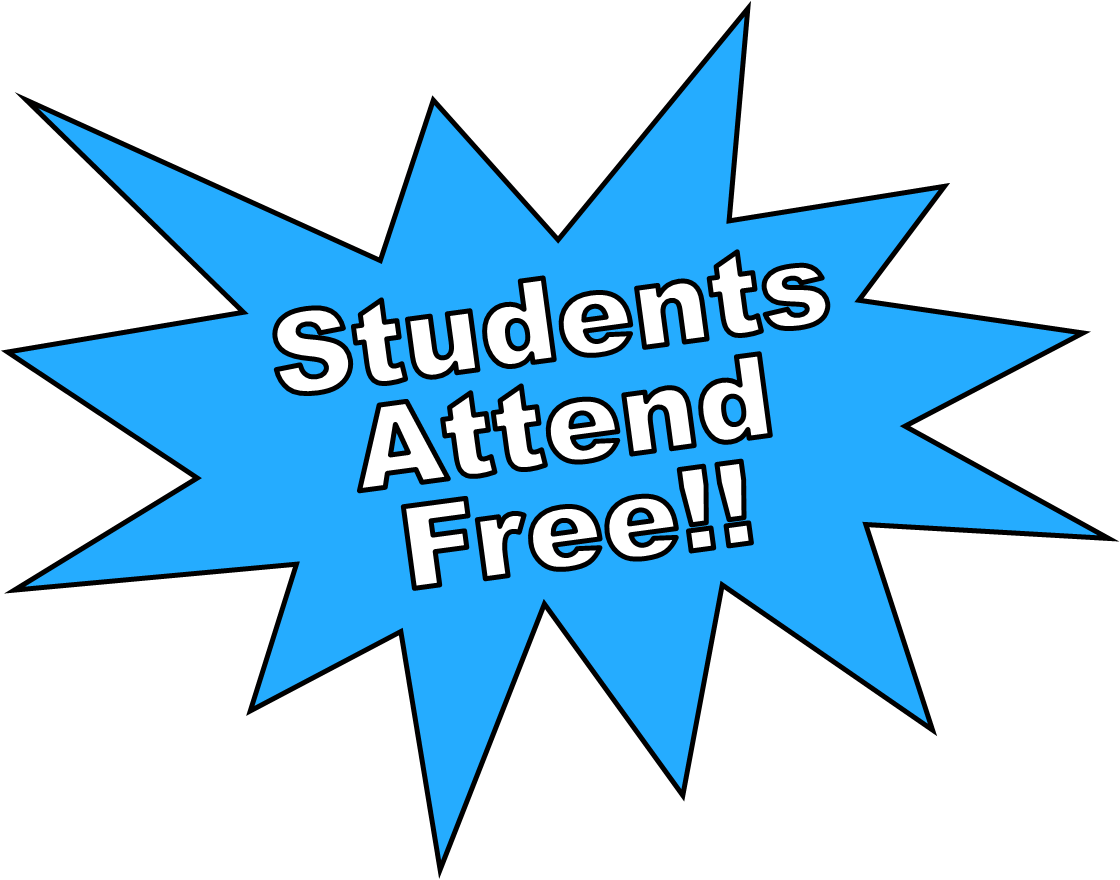 students attend free
