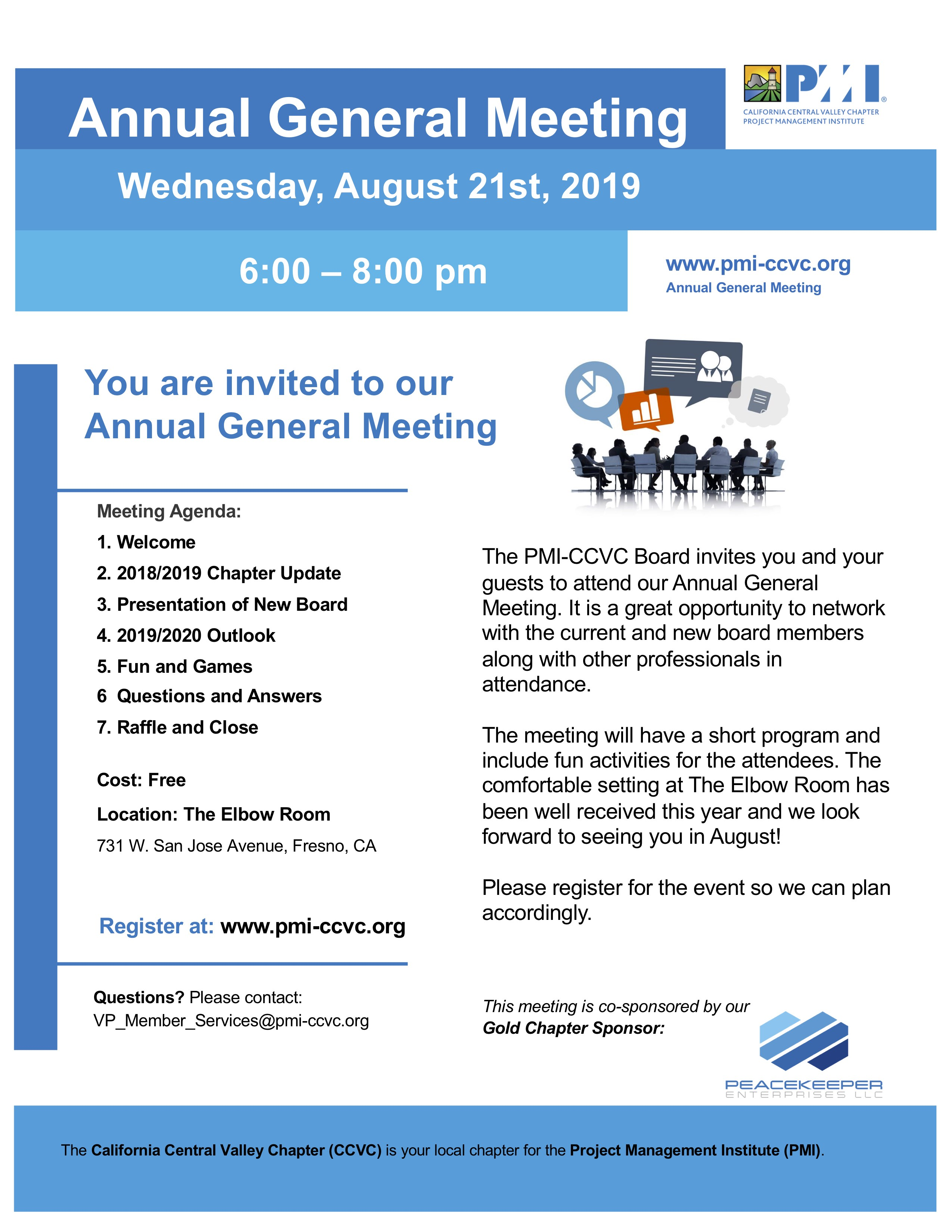 August 2019 Annual General Meeting